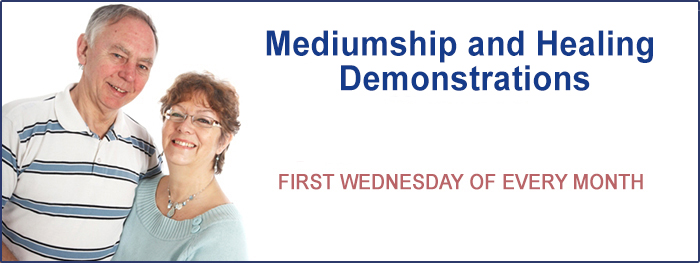 Mediumship Demonstration night JCPF